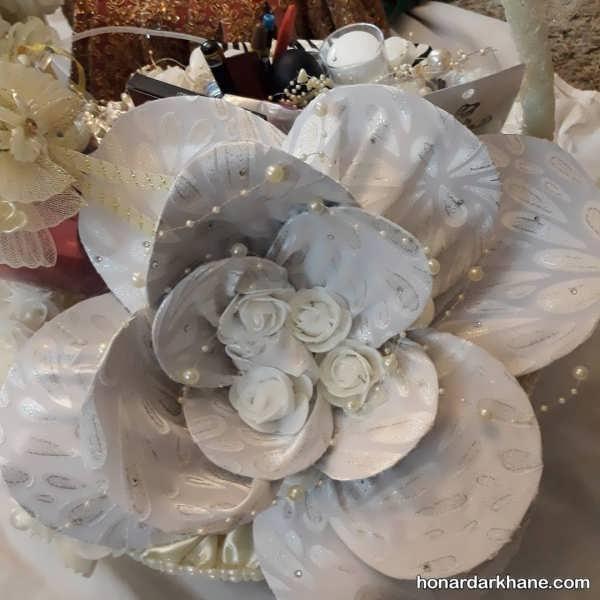 تزئین چادر عروس با ایده های متفاوت