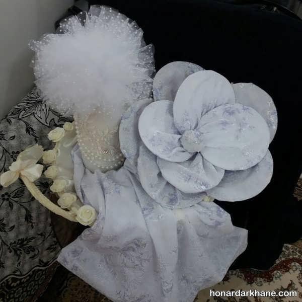 تزئین چادر عروس با ایده های شیک