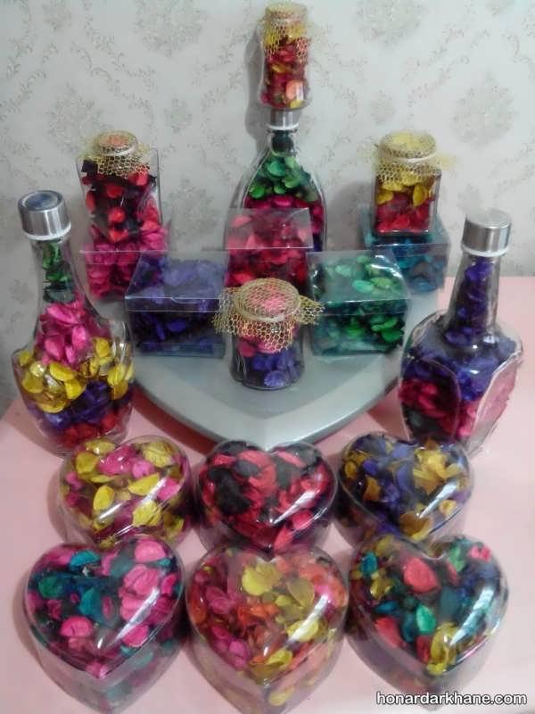 تزئین گل خشک با ایده های خلاقانه