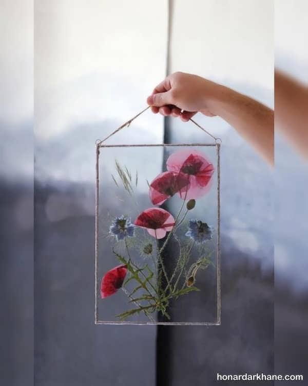 تزئین جالب گل خشک