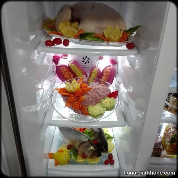 تزیینات متفاوت یخچال عروس