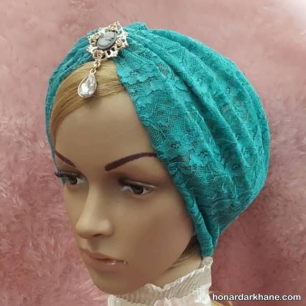 مدل های مجلسی کلاه حجاب