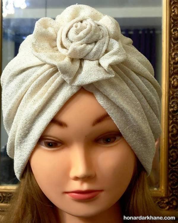 انواع کلاه حجاب یا توربان