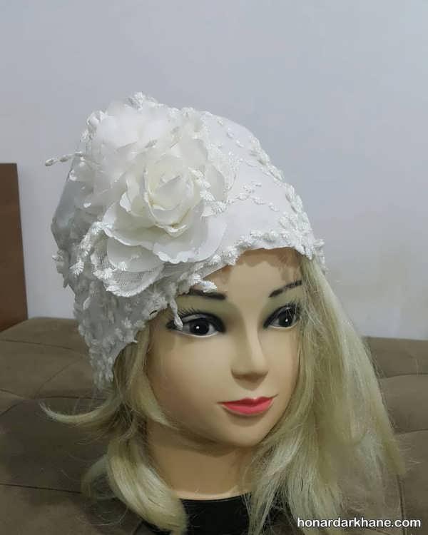 کلاه حجاب مجلسی جذاب