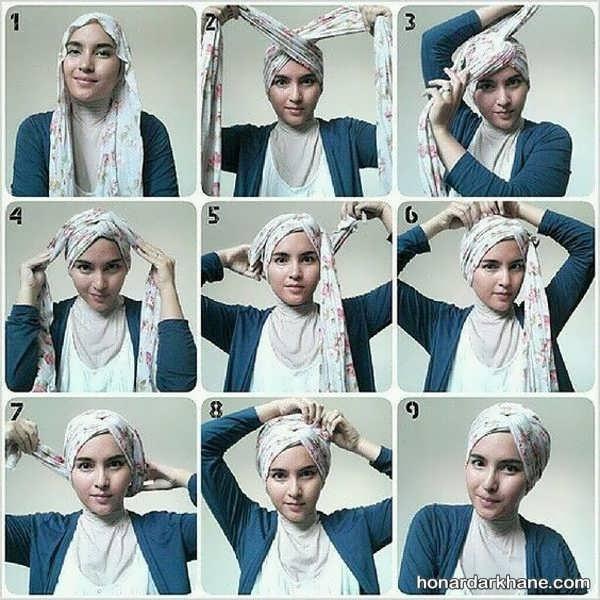 مدل های جذاب کلاه حجاب