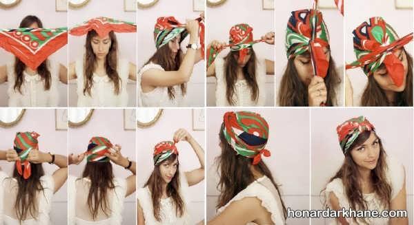 انواع کلاه حجاب شیک و زیبا