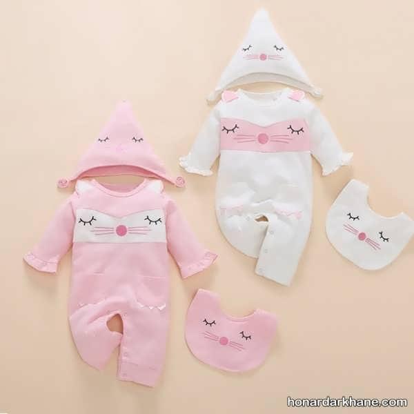 شیک ترین مدل لباس نوزاد دخترانه