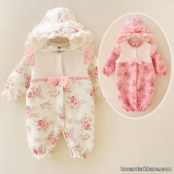 خاص ترین مدل لباس نوزاد دخترانه