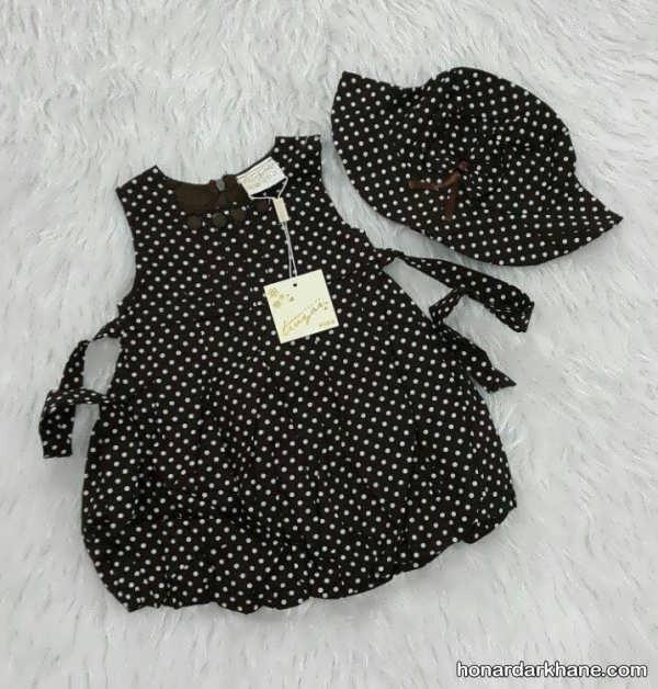 مدل لباس نوزاد دخترانه با طرح های جدید