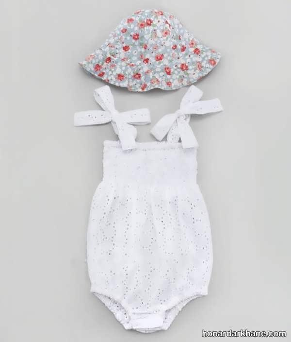 مدل لباس نوزاد دخترانه با طرح های متفاوت