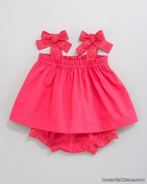 مدل لباس نوزاد دخترانه با طرح های خاص