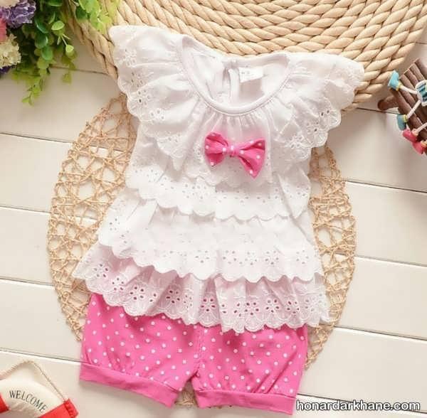 لباس نوزاد دخترانه جذاب