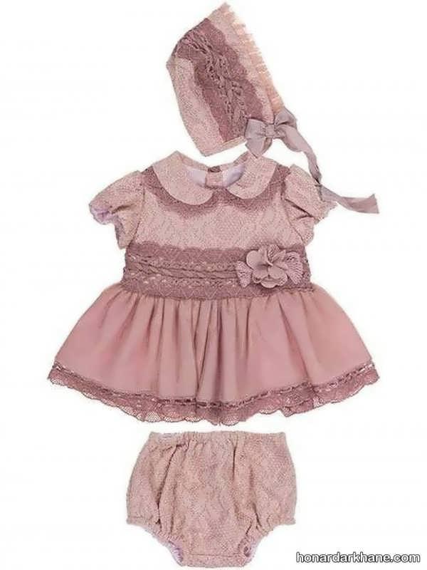 لباس نوزاد دخترانه در مدل های جدید