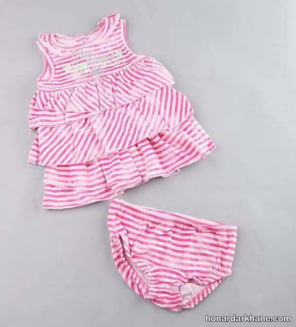 لباس نوزاد دخترانه متفاوت
