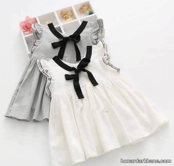 لباس نوزاد دخترانه زیبا و جدید