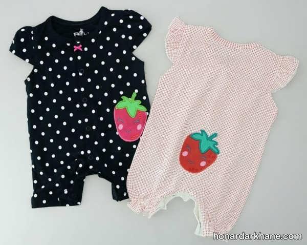 متنوع ترین لباس نوزاد دخترانه