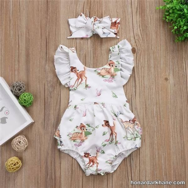 زیباترین لباس نوزاد دخترانه