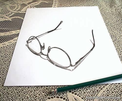 کشیدن نقاشی جالب سه بعدی