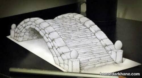 نقاشی های سه بعدی خلاقانه