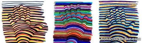 رنگ آمیزی نقاشی سه بعدی