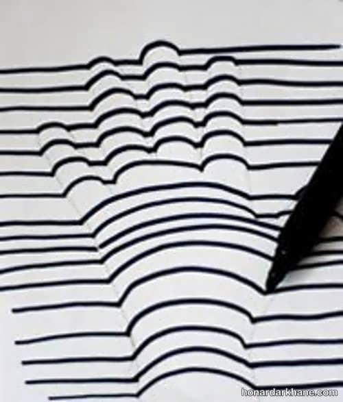 آموزش ساده نقاشی سه بعدی