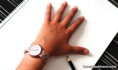 نحوه کشیدن نقاشی سه بعدی