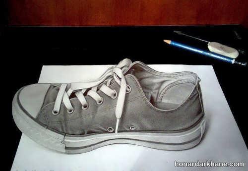 آموزش نقاشی سه بعدی