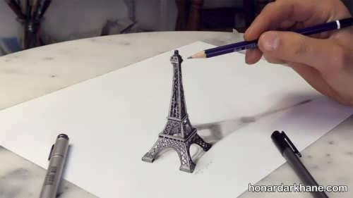 نقاشی های سه بعدی زیبا