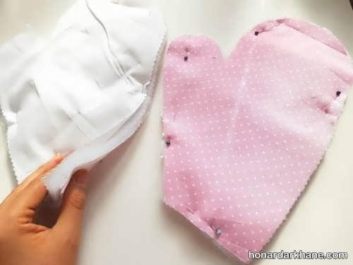 مدل ساده دستکش فر و روش دوخت آن
