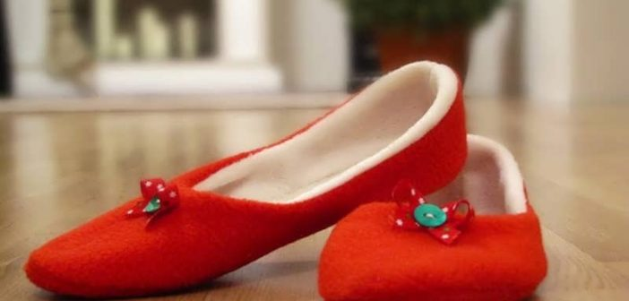 دوخت کفش روفرشی زیبا و شیک با روشی ساده و آسان