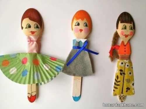 مدل های متنوع عروسک خیمه شب بازی