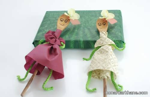 ساختن عروسک خیمه شب بازی با ایده های خلاقانه