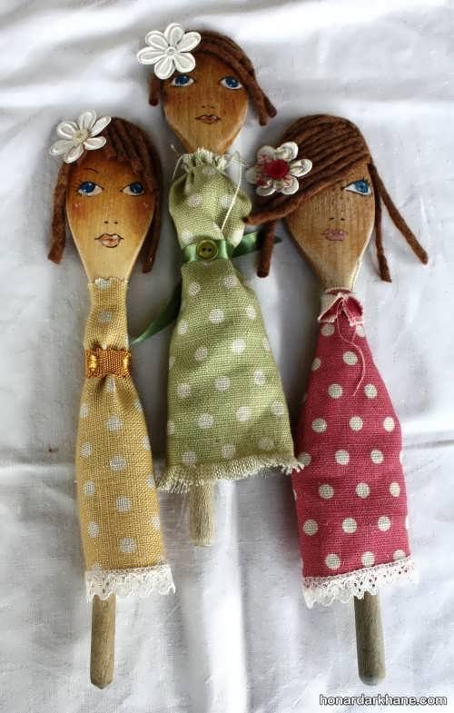 انواع عروسک خیمه شب بازی