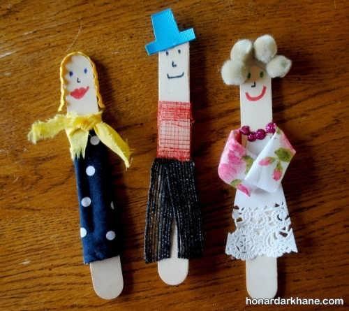 ساخت عروسک های خیمه شب بازی زیبا