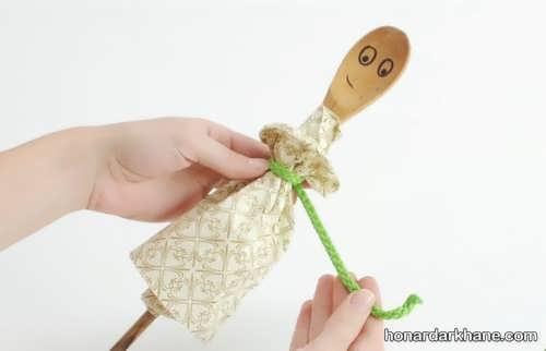 آموزش ساختن عروسک خیمه شب بازی
