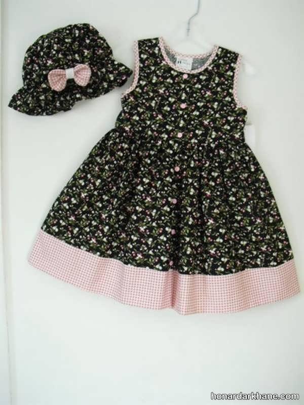 مدل لباس نخی بچگانه