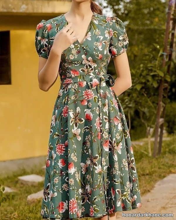 مدل لباس نخی زیبا زنانه