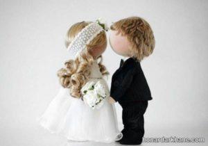 عروسک روسی عروس و داماد