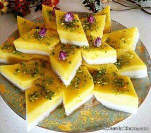 پخت ترحلوای شیرازی