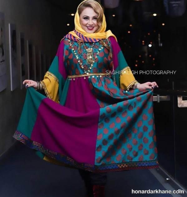 مدل مانتو بازیگران زن ایرانی