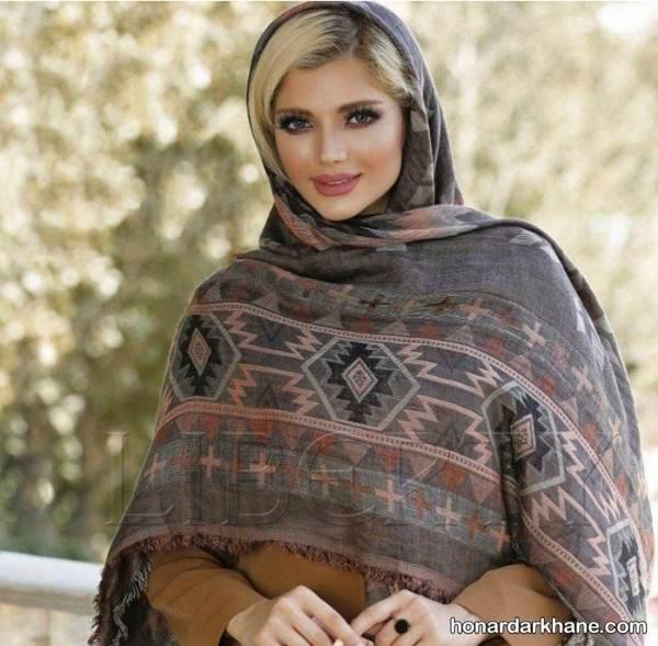 مدل روسری نخی جدید