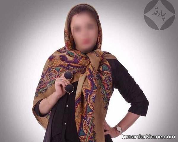 روسری قواره بزرگ جدید