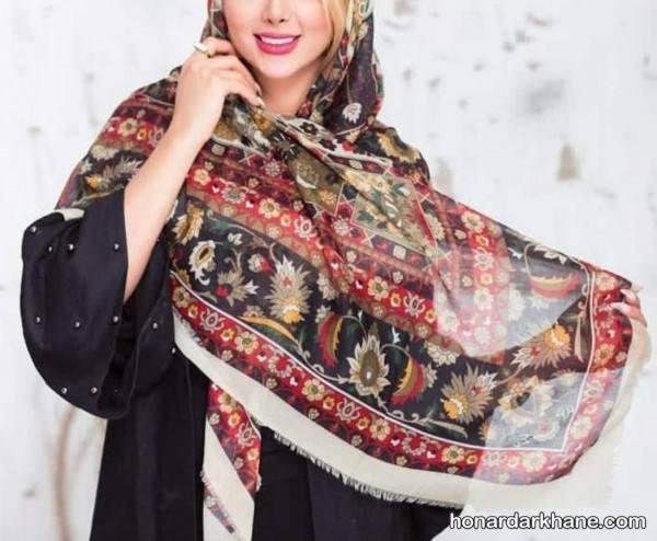 روسری نخی دخترانه
