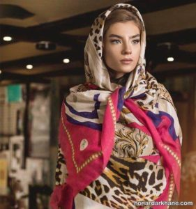 مدل روسری پلنگی جدید