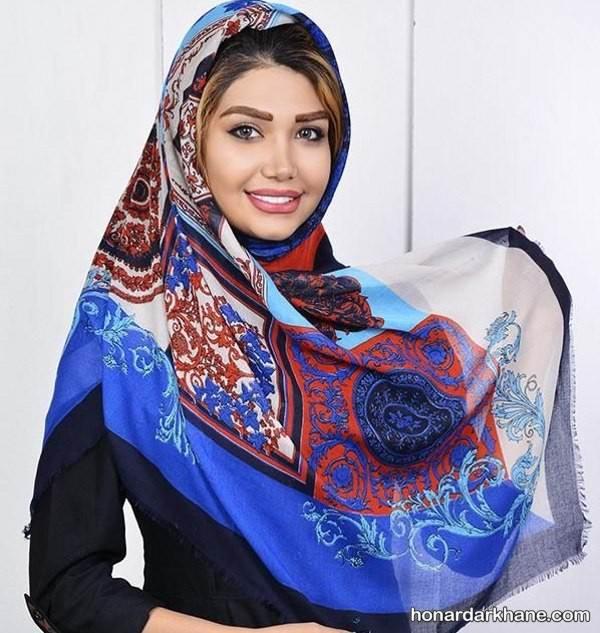 عکس روسری جدید نخی
