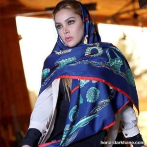 مدل روسری جدید و زیبا