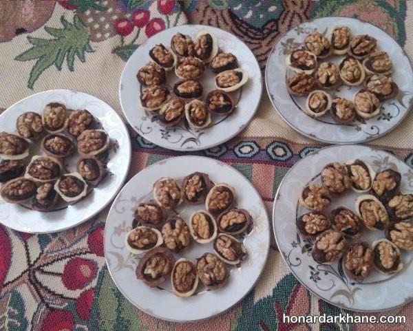 تزیین خرما برای افطار