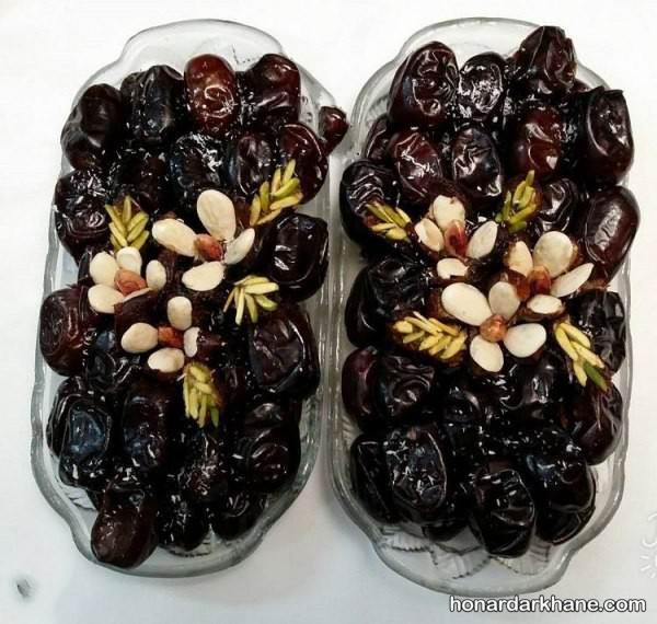 تزیین خرما افطاری