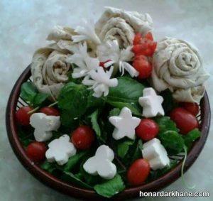 تزیین سبد سبزی خوردن