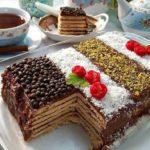 طرز تهیه کیک یخچالی